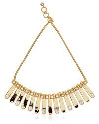 House of Lavande - Metallic Celestiel Necklace - Lyst