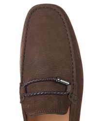 Tod's | Brown Club Gommino Loafers for Men | Lyst