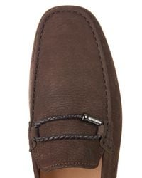 Tod's - Brown Club Gommino Loafers for Men - Lyst