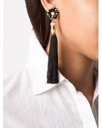Lizzie Fortunato - Multicolor Tahitian Tassel Earring - Lyst