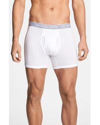 Michael Kors | White 'soft Touch' Boxer Briefs, (3-pack) for Men | Lyst