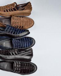 Stuart Weitzman - Blue Move in Strappy Elastic Sneaker - Lyst