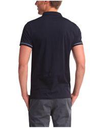 BOSS Orange | Blue Cotton Polo Shirt 'pioli' for Men | Lyst