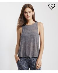 Live Love Dream | Gray Lld Slub Swing Tank | Lyst