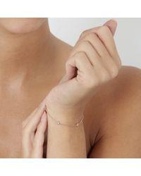 Astley Clarke | Pink Falling Leaf Bracelet | Lyst