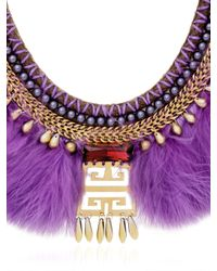 Fiona Paxton | Purple Crazie Mazie Necklace | Lyst
