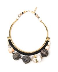 Lizzie Fortunato - Blue Mountain And Sea Necklace - Lyst