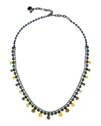 Tom Binns | Green Necklace | Lyst
