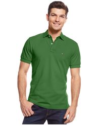 Tommy Hilfiger - Green Custom-fit Ivy Polo for Men - Lyst