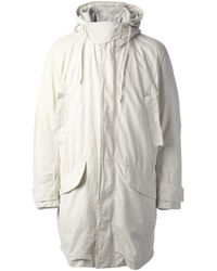 Acne Studios | White Vancouver Coat for Men | Lyst