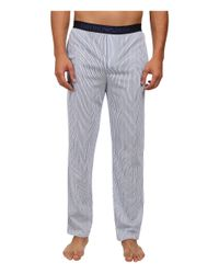 Emporio Armani | White Printed Jersey Pajama Set for Men | Lyst