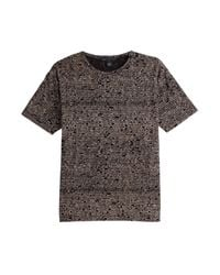 Marc By Marc Jacobs - Pink Boxy Logo Tee - Black for Men - Lyst