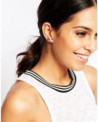 ALDO | Black Raziel Ear Cuff & Stud Multipack Earrings | Lyst