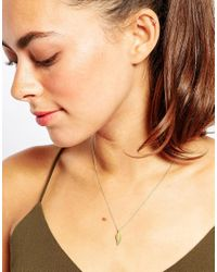 Dogeared | Metallic Gold Plated You Are An Angel Guardian Angel Wing Reminder Necklace | Lyst