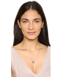 Holly Dyment | Pink Necklace With Mini Lip Pendant | Lyst