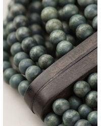 Monies - Green Beaded Necklace - Lyst