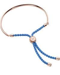 Monica Vinader - Metallic Rose Gold Vermeil Fiji Bracelet - Lyst