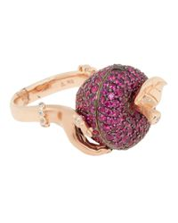 Stephen Webster | Pink Large Poison Apple Ring | Lyst