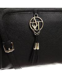 Giorgio Armani | Black Handbag Bag Ecosaffiano 2 Handles | Lyst
