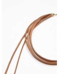 Free People | Brown Womens Kristel High Lo Collar | Lyst