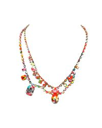 Tom Binns | Multicolor A Riot Of Colour Necklace | Lyst