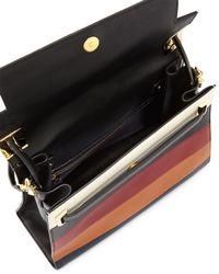 Valentino - Multicolor My Rockstud Striped Tote - Lyst