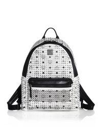 MCM | White Special Stark Medium Backpack for Men | Lyst