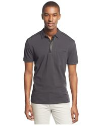 INC International Concepts | Gray Dormir Polo for Men | Lyst