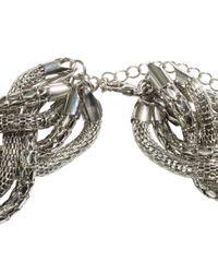 H&M - Metallic Braided Necklace - Lyst