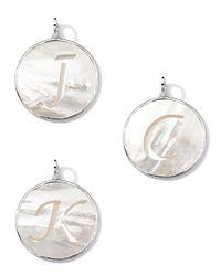 Ippolita - Metallic Sterling Silver Lollipop Letter Charm - Lyst