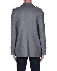 Tonello - Gray Coat for Men - Lyst