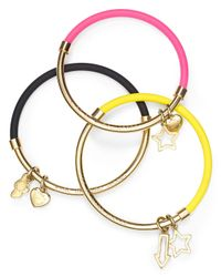 Marc By Marc Jacobs - Black Heart Cloud Hula Hoop Bangle - Lyst