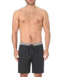 Zimmerli | Blue Cotton-jersey Shorts for Men | Lyst