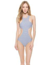 Mikoh Swimwear - Black Osaka One Piece Swimsuit - Vintage Sailor - Lyst