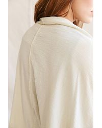 Urban Renewal - White Remade Textured Cocoon Cardigan - Lyst