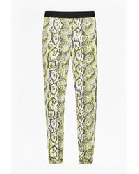 French Connection | Multicolor Tapered Snakeskin-print Trousers | Lyst