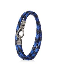 Tod's | Blue Mycolors Bracelet In Leather for Men | Lyst