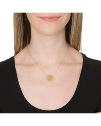 Jennifer Zeuner   Yellow Mini Art Deco Love Necklace   Lyst