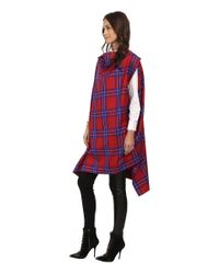 Vivienne Westwood Anglomania | Blue Rectangle Cape | Lyst