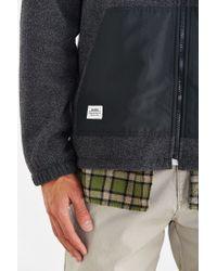 Katin - Black Polar Fleece Zip Jacket for Men - Lyst
