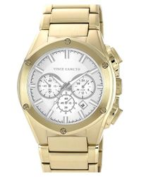 Vince Camuto - Metallic Chronograph Bracelet Watch for Men - Lyst