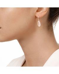 Monica Vinader - Pink Vega Drop Earrings - Lyst