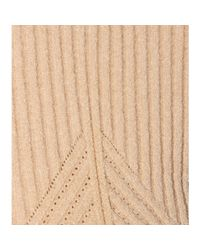 Calvin Klein - Natural Cropped Sweater - Lyst