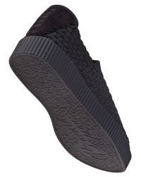 Bernie Mev | Black Chacha Platform Sneaker | Lyst