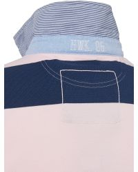Howick - Pink Stafford Stripe Short Sleeve Rugby for Men - Lyst