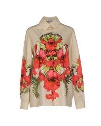 Givenchy | White Iris Shirt | Lyst