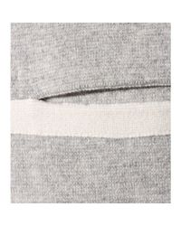 Chloé | Gray Cashmere Open Cardigan | Lyst