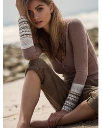 Free People - Natural We The Free Ski Lodge Cuff - Lyst