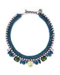 Venessa Arizaga | 'into The Blue' Necklace | Lyst