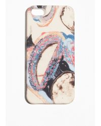 & Other Stories - Multicolor Agate Print Iphone 5 Case - Lyst